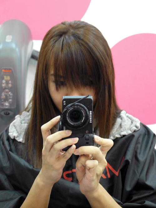 Ombre Hair by Caely Tham