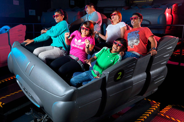 4D Excitement at Sentosa 4D Adventureland