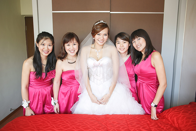 Bridesmaid Dresses Singapore