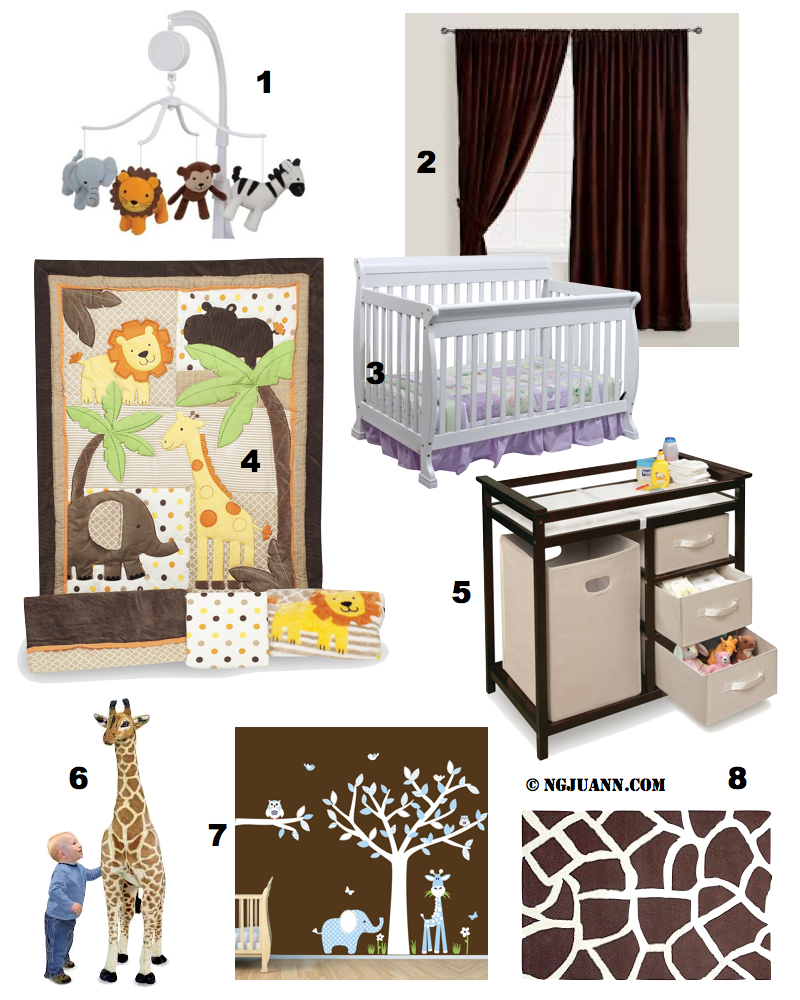 Safari Jungle Themed Nursery