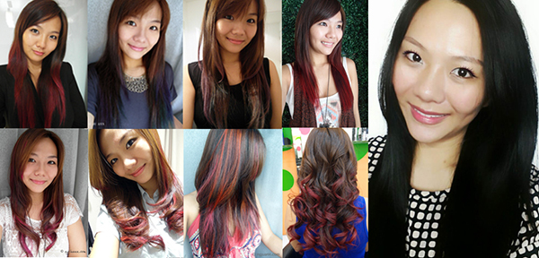 My Hair Colour Journey with Caely from Shunji Matsuo @ 313 Somerset
