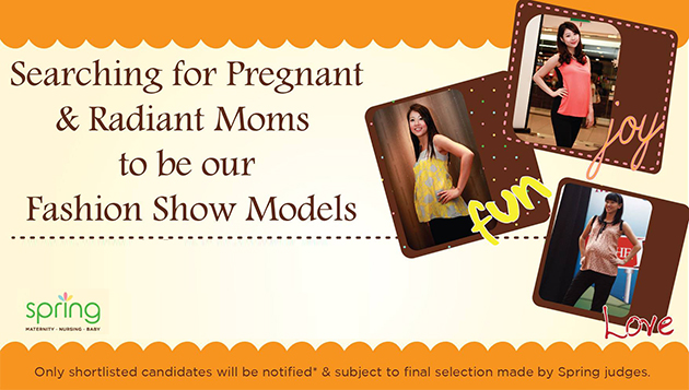 Spring Maternity is looking for pregnant moms as models!
