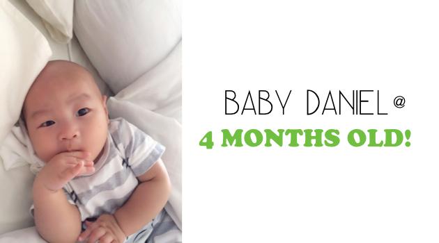Daniel at 4 months