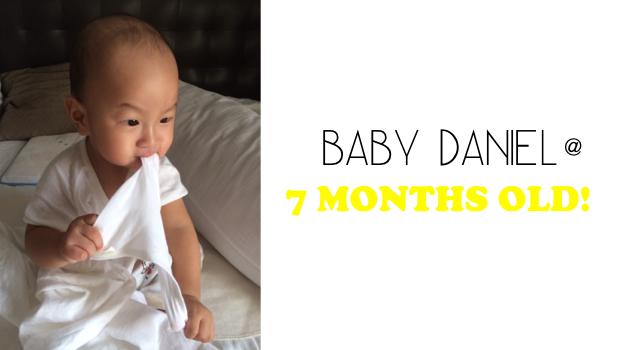 Daniel at 7 months