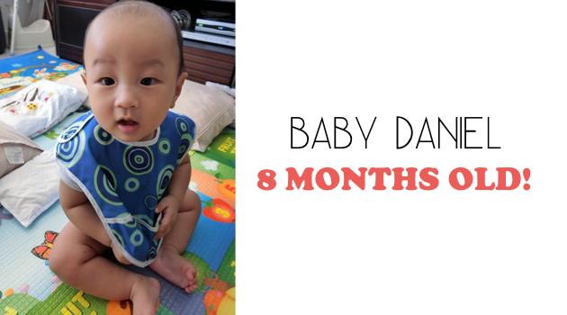 Daniel at 8 months