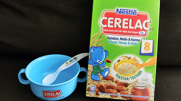 Nestle Cerelac – Wheat, Honey & Dates