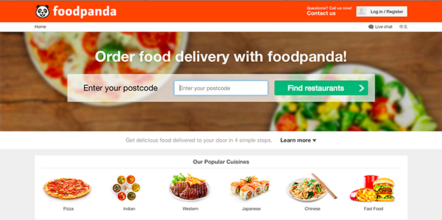 Foodpanda.sg Review