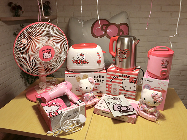 Hello Kitty meets kitchen appliances!