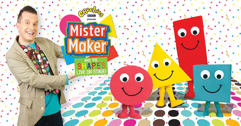 Review: Mister Maker & The Shapes LIVE in Singapore