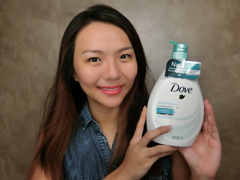 Review: Dove Sensitive Skin Body Wash