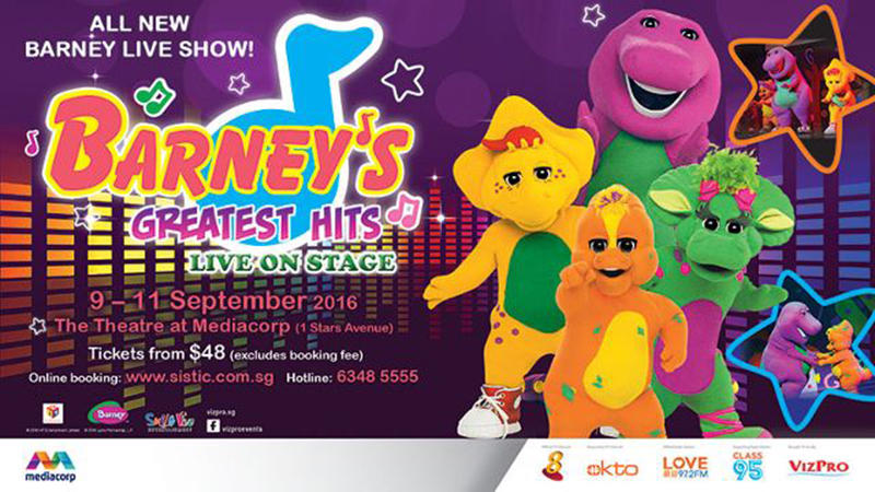 Barney's Greatest Hits In Singapore 2016