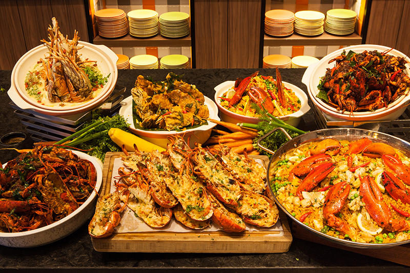 J65 dinner buffet