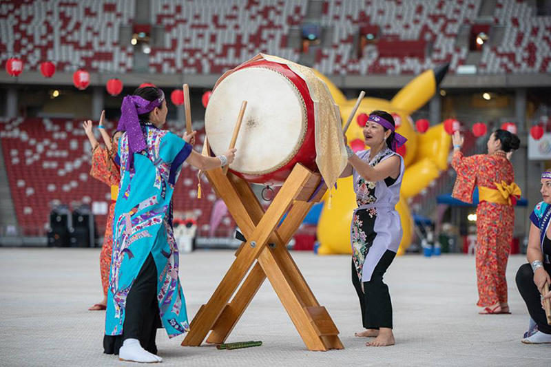 Japanese Food, Yukata Try-Outs, Pikachu Meet & Greet and more at the Japan Summer Festival 2018